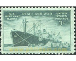 Ref. 310897 * MNH * - UNITED STATES. 1946. PAZ Y GUERRA - Bateaux