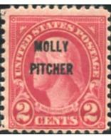 Ref. 577029 * HINGED * - UNITED STATES. 1928. CONMEMORACIÓN DE LA VALENTÍA EXHIBIDA POR MOLLY PITCHER - Etats-Unis