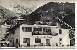 """TRESSE - LES CONTAMINES MONTJOIE Pension-Restaurant """" LE RELAIS DES ALPES 3 La Chaine Du Mont-Blanc - Les Contamines-Montjoie"""