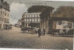DAX - PLACE DE LA FONTAINE CHAUDE - SUPERBE ANIMATION - VERS 1900 - Dax