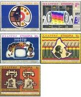 Ref. 312069 * MNH * - ETHIOPIA. 1971. 75 ANIVERSARIO DE LAS TELECOMUNICACIONES - Ethiopie