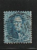 COB N° 15 Oblitération P39 Fleurus - 1863-1864 Médaillons (13/16)