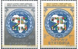 Ref. 312103 * MNH * - ETHIOPIA. 1983. 25 ANIVERSARIO DE LA COMISION AFRICANA - Ethiopie