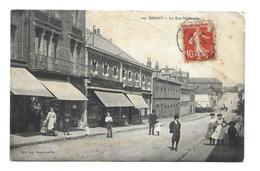 62/ PAS De CALAIS... BRUAY: La Rue Nationale - Francia