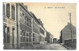 62/ PAS De CALAIS... BRUAY: Rue De La Gare - Francia