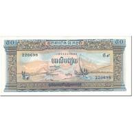 Billet, Cambodge, 50 Riels, 1956-75, Undated(1956-75), KM:7d, NEUF - Cambodge