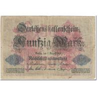 Billet, Allemagne, 50 Mark, 1914, 1914-08-05, KM:49a, B - [ 2] 1871-1918 : Duitse Rijk