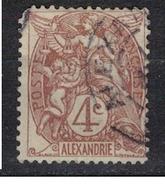 ALEXANDRIE              N°  YVERT   22   OBLITERE       ( Ob  2/63 ) - Gebraucht