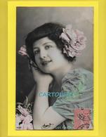 CPA Melle FLEURON Artist Theatre Paris  Artiste 1900 – Femme (Variétés) – Photo  (voir Scan Recto/verso) - Artistes