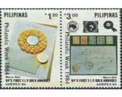 Ref. 313344 * MNH * - PHILIPPINES. 1985. PHILATELIC WEEK . SEMANA DE LA FILATELIA - Stamps On Stamps