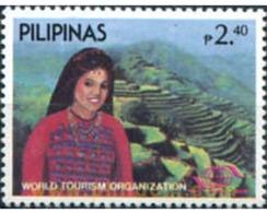 Ref. 313357 * MNH * - PHILIPPINES. 1985. TOURISM WORLD ORGANIZATION . ORGANIZACION MUNDIAL DE TURISMO - Philippines