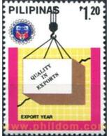 Ref. 313358 * MNH * - PHILIPPINES. 1985. EXPORT YEAR . AÑO DE LA EXPORTACION - Philippines