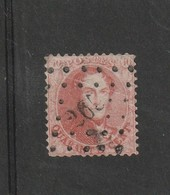 COB N° 16 Oblitération L265 Nandrin (1 Dent Courte ) - 1863-1864 Médaillons (13/16)