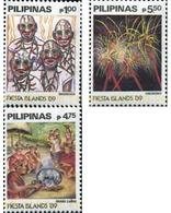Ref. 313450 * MNH * - PHILIPPINES. 1989. TRADITONAL HOLIDAYS . FIESTAS TRADICIONALES - Philippines
