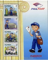 Ref. 367521 * MNH * - PHILIPPINES. 2010. STAMP DAY . DIA DEL SELLO - Cars