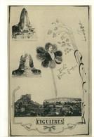 Carte Postale Ancienne Fantaisie Eyguières - Multivues - Eyguieres