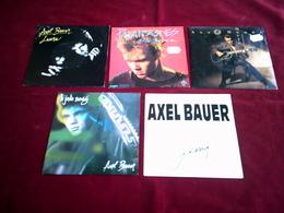 AXEL  BAUER ° COLLECTION DE 5 VINYLES  45 TOURS - Colecciones Completas