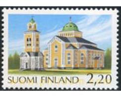 Ref. 103198 * MNH * - FINLAND. 1988. KERIMAKI CHURCHES . IGLESIAS DE KERIMAKI - Finnland