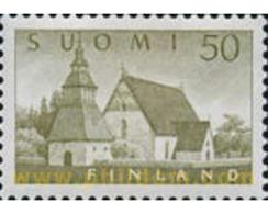 Ref. 103555 * MNH * - FINLAND. 1956. CHURCHES . IGLESIAS - Finnland