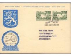 Ref. 592744 * MNH * - FINLAND. 1961. LAKE . LAGO - Briefe U. Dokumente