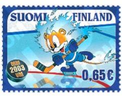 Ref. 116631 * MNH * - FINLAND. 2003. ICE-HOCKEY WORLD CHAMPIONSHIPS . CAMPEONATO DEL MUNDO DE HOCKEY SOBRE HIELO - Finland