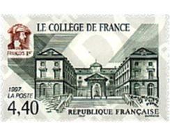Ref. 46505 * MNH * - FRANCE. 1997. FRANCE COLLEGE . EL COLEGIO DE FRANCIA - Célébrités