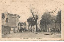 Col4/    24   Bergerac     Place Du Jardin Public       (animations) - Bergerac