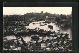 AK Singapur, Boote Im Hafen - Singapore