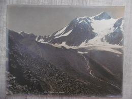 WILDSPITZE MITTERKAR 3770M PHOTO ARGENTIQUE GEBRUDER BACHRENDT MERANO 1907 CACHET 26.3 X 20 - Plaatsen
