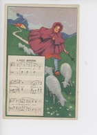Il Pleur Bergère (partition Paroles) Illustration Bergère Mouton - Fantasie