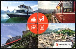 AUSTRIA 2019 - WOLFGANGSEE BOAT TRIPS - ST. WOLFGANG / ST. GILGEN TICKET - Carte D'imbarco Di Navi
