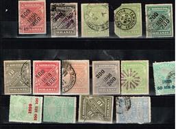 Brésil Vrac Anciens Timbres à Identifier - Collections (sans Albums)
