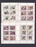 DDR - 1966/69  -  Kleinbogen Sammlung - Postfrisch - DDR