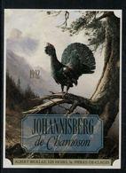 Etiquette De Vin // Johannisberg De Chamoson, Le Coq De Bruyère, Oiseau - Etiquetas