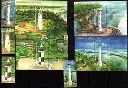 SRI LANKA , 2018, MNH, LIGHTHOUSES, 4v+ 4 S/SHEETS - Lighthouses