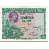 Billet, Espagne, 500 Pesetas, 1928, 1928-08-15, KM:77a, NEUF - [ 1] …-1931 : Prime Banconote (Banco De España)