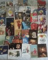 35 CARTOLINE AUGURI  (577) - Cartoline