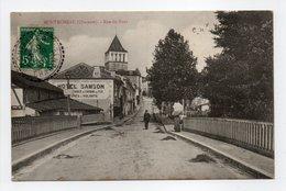- CPA MONTMOREAU (16) - Rue Du Pont 1907 (HOTEL SAMSON) - - Autres Communes