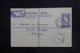MALAISIE - Entier Postal En Recommandé De Kota Bharu Pour Lampur En 1960 - L 36332 - Malayan Postal Union