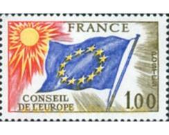 Ref. 152960 * MNH * - FRANCE. 1976. EUROPEAN COUNCIL . CONSEJO DE EUROPA - Europese Gedachte