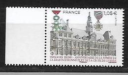 France 2019 - Anniversaire De La Remise De La Légion D'Honneur Et De La Croix De Guerre à La Ville De Reims ** - France
