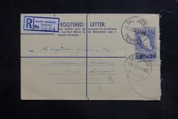 MALAISIE - Entier Postal En Recommandé De Dato Kramat Pour Kouala Lumpur En 1961 - L 36338 - Malayan Postal Union