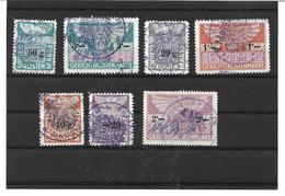 1660y: Lot Stempelmarken Um 1946, Verwendet Beim BG Baden, Österreich - Poststempel - Freistempel