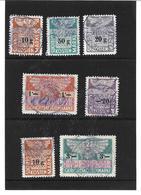 1660x: Lot Stempelmarken Um 1946, Verwendet Beim BG Baden, Österreich - Fiscaux