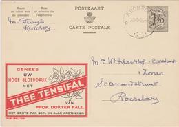 Publibel 1320 / Relais *Krombeke* 1956 / Thee Tensifal - Publibels