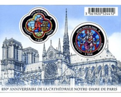 Ref. 310691 * MNH * - FRANCE. 2013. 850 ANIVERSARIO DE LA CATEDRAL NOTRE DAME DE PARIS - Churches & Cathedrals