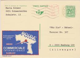 Publibel 2528 F / Obl. S.H.A.P.E. Belgique / Foire Commerciale 1972 - Mons Hainaut >> Allemagne - Werbepostkarten