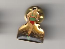 Pin's NUAILLE -- Semi Marathon Du Massif Forestier ( Dép 49 ) - Athlétisme