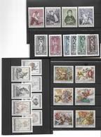 1660j: Österreich 4 Schöne Motivsätze - Sammlungen