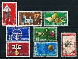 Suiza Nº 544/7-558/61 Usado Cat.15€ - Used Stamps